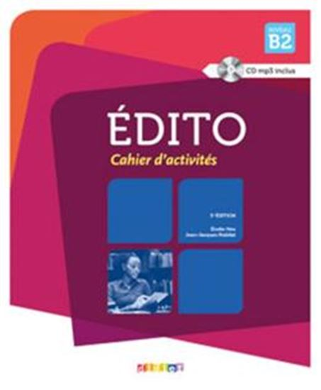 Picture of EDITO B2 CAHIER + CD - 3º ED