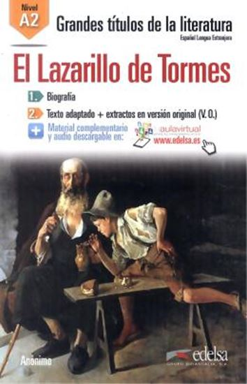 Picture of LAZARILLO DE TORMES, EL A2 - AUDIO DESCARGABLE EN PLATAFORMA
