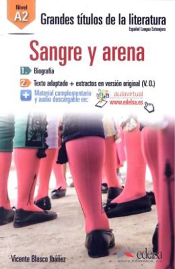 Picture of SANGRE Y ARENA A2 - AUDIO DESCARGABLE EN PLATAFORMA