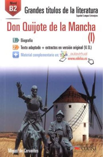 Picture of DON QUIJOTE DE LA MANCHA (I) B2 - AUDIO DESCARGABLE EN PLATAFORMA
