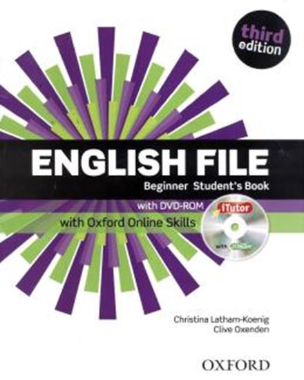 Picture of ENGLISH FILE BEGINNER SB WITH ITUTOR AND ONLINE SKILLS - 3RD ED