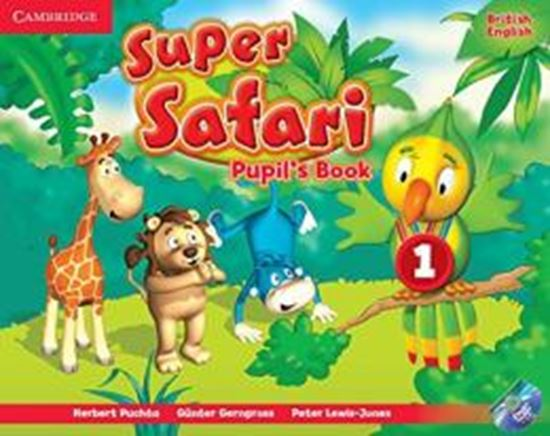 Picture of SUPER SAFARI 1 PB WITH DVD-ROM - BRITISH