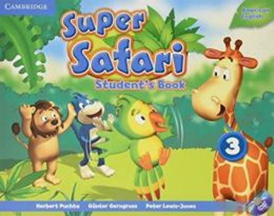 Picture of SUPER SAFARI 3 AMERICAN ENGLISH SB WITH DVD-ROM