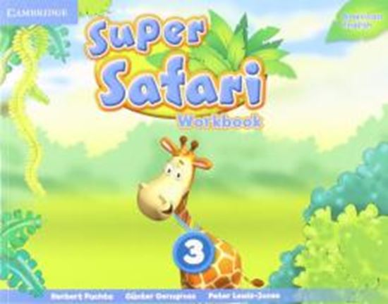 Picture of SUPER SAFARI 3 AMERICAN ENGLISH WB
