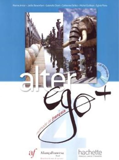 Picture of ALTER EGO + 4 BRESIL - LIVRE DE L´ELEVE + CD-ROM