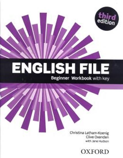 Picture of ENGLISH FILE BEGINNER WB WITH KEY - 3RD ED
