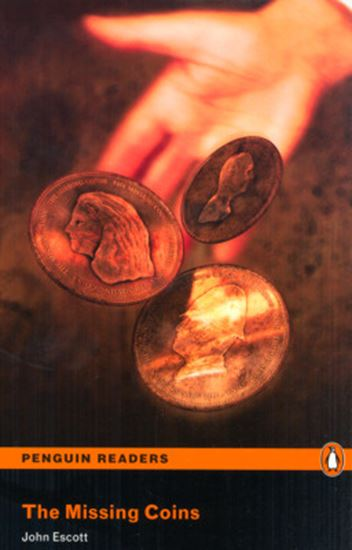 Picture of MISSING COINS, THE - PENGUI READERS LEVEL 1 - WITH AUDIO CD
