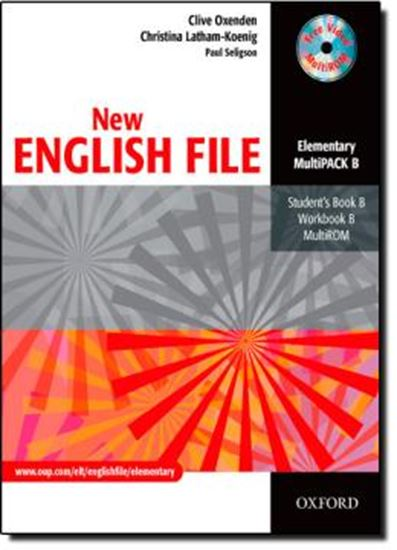 Picture of NEW ENGLISH FILE ELEMENTARY MULTIPACK B (STUDENT´S BOOK / WORKBOOK / MULTIROM)