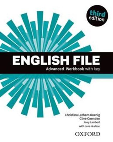 Picture of ENGLISH FILE ADVANCED WB WITH KEY - 3RD ED