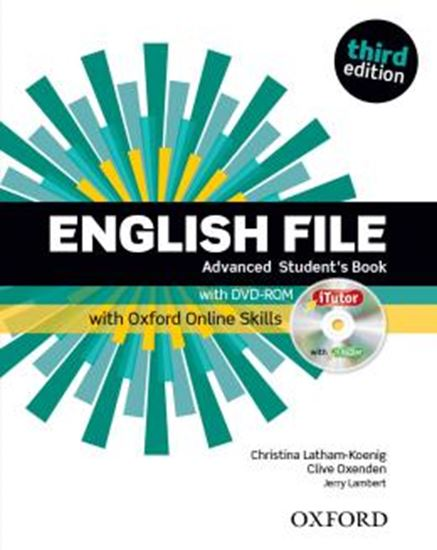 Picture of ENGLISH FILE ADVANCED SB WITH ITUTOR AND ONLINE SKILLS - 3RD ED