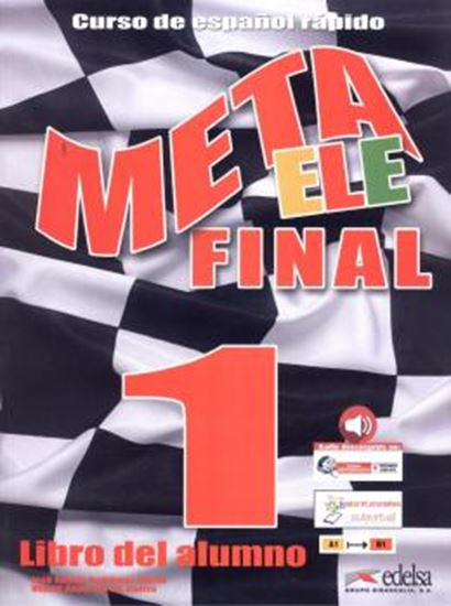 Picture of META ELE FINAL 1 - LIBRO DEL ALUMNO CON AUDIO DESCARGABLE - NE