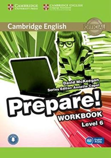Picture of CAMBRIDGE ENGLISH PREPARE! 6 WB WITH AUDIO CD