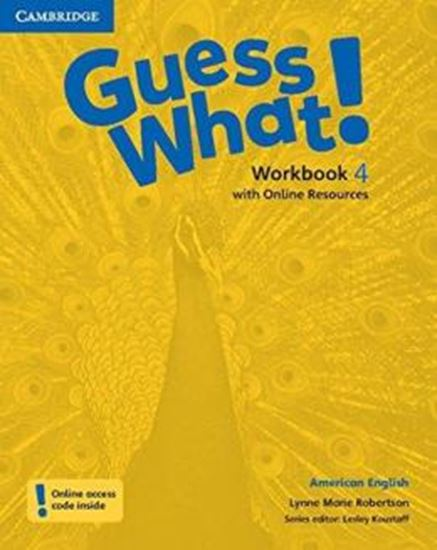 Picture of GUESS WHAT! 4 WORKBOOK WITH ONLINE RESOURCES - AMERICAN