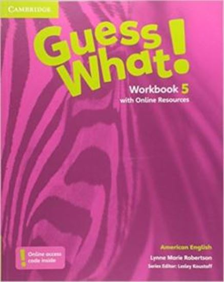 Picture of GUESS WHAT! 5 WB WITH ONLINE RESOURCES - AMERICAN