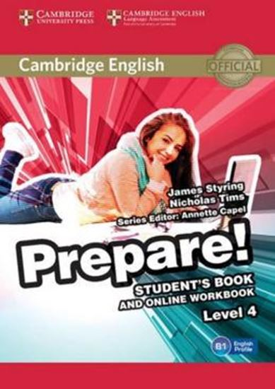 Picture of CAMBRIDGE ENGLISH PREPARE! 4 SB WITH ONLINE WB