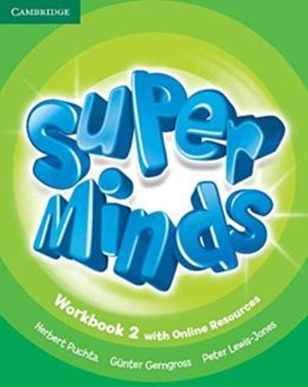 Picture of SUPER MINDS BRITISH 2 WB WITH ONLINE RESOURCES