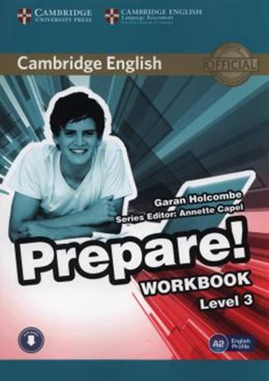 Picture of CAMBRIDGE ENGLISH PREPARE! 3 WB WITH ONLINE AUDIO
