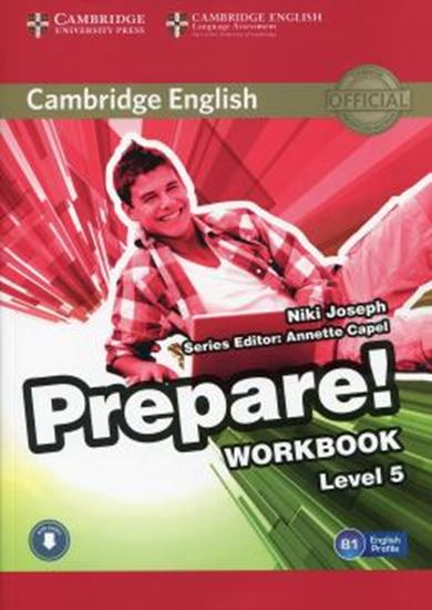 Picture of CAMBRIDGE ENGLISH PREPARE! 5 WB WITH ONLINE AUDIO
