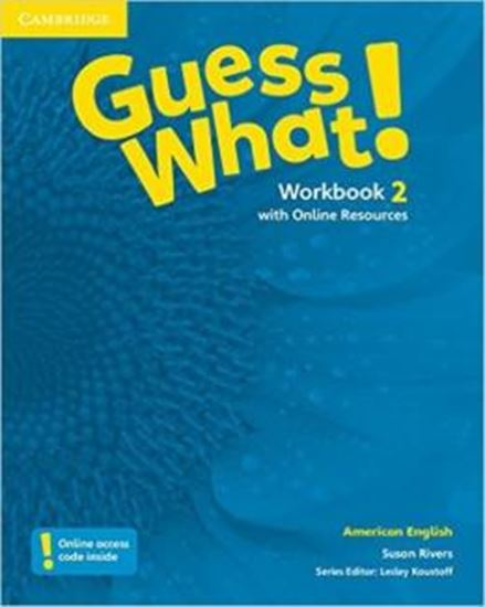 Picture of GUESS WHAT! 2 WB WITH ONLINE RESOURCES - AMERICAN
