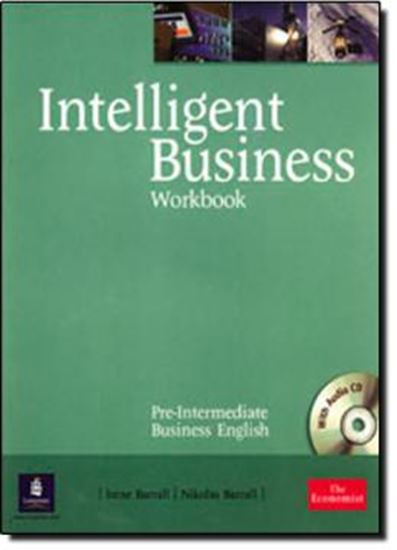 Picture of INTELLIGENT BUSINESS PRE-INTERMEDIATE WORKBOOK AND CD