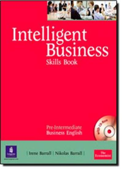 Picture of INTELLIGENT BUSINESS PRE-INTERMEDIATE SKILLS BOOK AND CD-ROM PACK