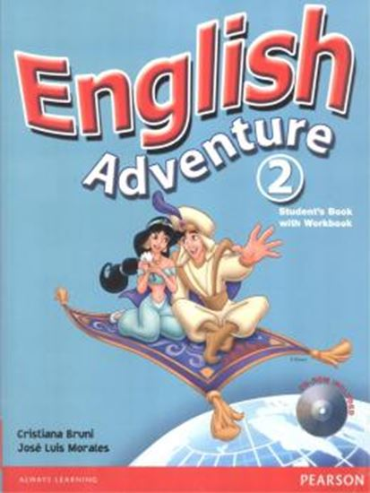 Picture of ENGLISH ADVENTURE 2 SB/WB -  WITH CD-ROM