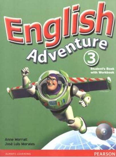 Picture of ENGLISH ADVENTURE 3 STUDENT´S BOOK / ACTIVITY BOOK WITH CD-ROM