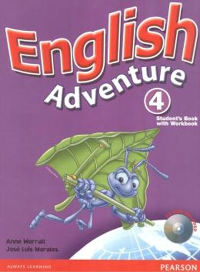 Picture of ENGLISH ADVENTURE 4 STUDENT´S BOOK / ACTIVITY BOOK WITH CD-ROM