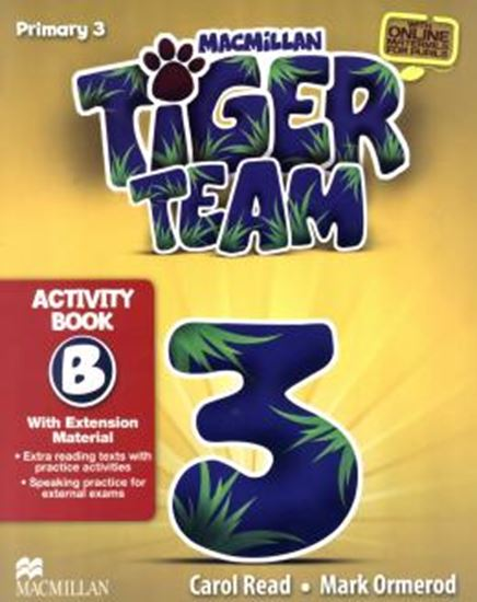 Picture of TIGER TEAM 3B ACTIVITY BOOK WITH PROGRESS JOURNAL