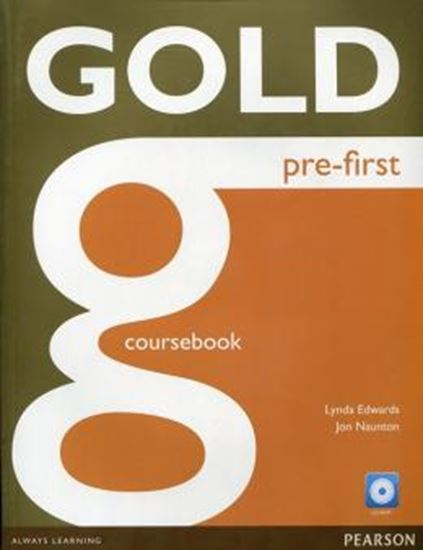 Picture of GOLD PRE-FIRST COURSEBOOK + CD-ROM PACK