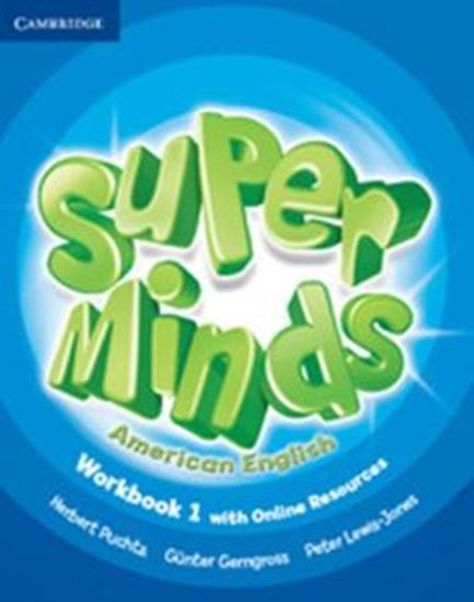 Picture of SUPER MINDS AMERICAN ENGLISH LEVEL 1 WORKBOOK WHIT ONLINE RESOURCES