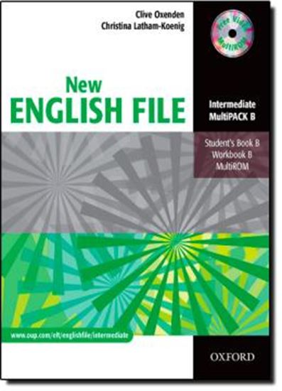 Picture of NEW ENGLISH FILE INTERMEDIATE MULTIPACK B (SB/WB/MULTIROM)