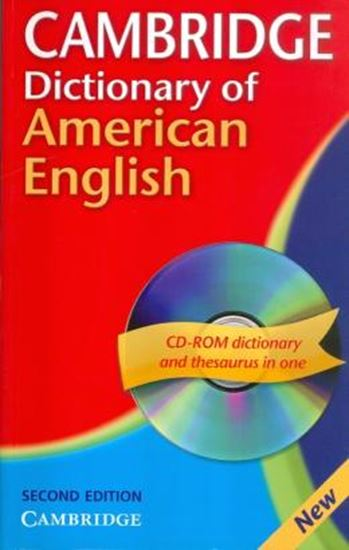 Picture of CAMBRIDGE DICTIONARY OF AMERICAN ENGLISH WITH CD-ROM - 2ND EDITION