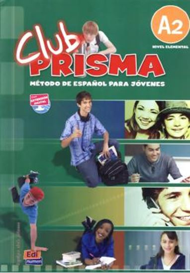Picture of CLUB PRISMA A2 - LIBRO DEL ALUMNO W/CD