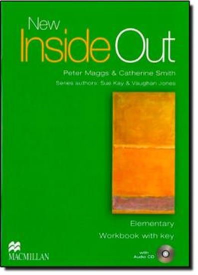 Picture of NEW INSIDE OUT  WORKBOOK  WITH KEY AND AUDIO-CD   ELEMENTARY
