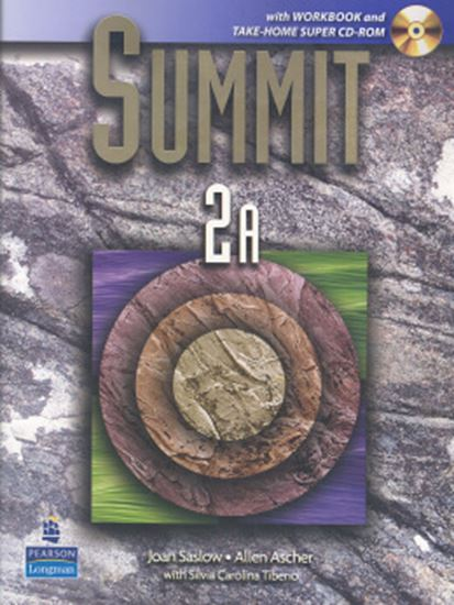 Picture of SUMMIT 2A SPLIT WITH WORKBOOK + SUPER CD-ROM