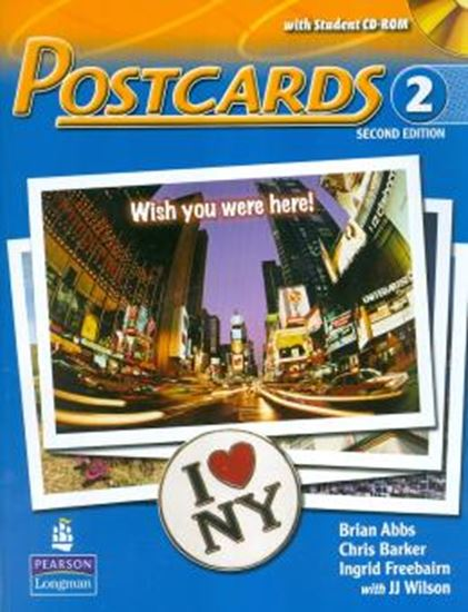 Picture of POSTCARDS STUDENT BOOK 2  WITH CD-ROM SECOND EDITION