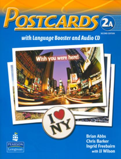 Picture of POSTCARDS 2A SPLIT PACK BRASIL (STUDENT BOOK WITH LANGUAGE BOOSTER AND AUDIO-CD AND READER) SECOND EDITION