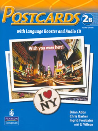 Picture of POSTCARDS 2B SPLIT PACK BRASIL (STUDENT BOOK WITH LANGUAGE BOOSTER AND AUDIO-CD AND READER) SECOND EDITION