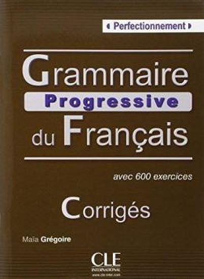 Picture of GRAMMAIRE PROGRESSIVE DU FRANCAIS PERFECTIONNEMENT - CORRIGES