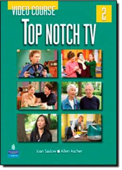 Picture of TOP NOTCH 2 TV VIDEO COURSE BOOK - 1ST ED