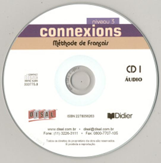 Picture of CONNEXIONS 3 - CD CLASSE (3) IMPORTADO