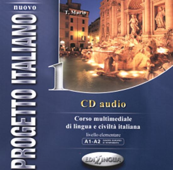 Picture of NUOVO PROGETTO ITALIANO 1 - CD AUDIO