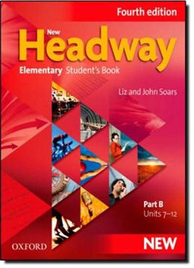 Picture of NEW HEADWAY ELEMENTARY STUDENTS BOOK B – FOURTH EDITION