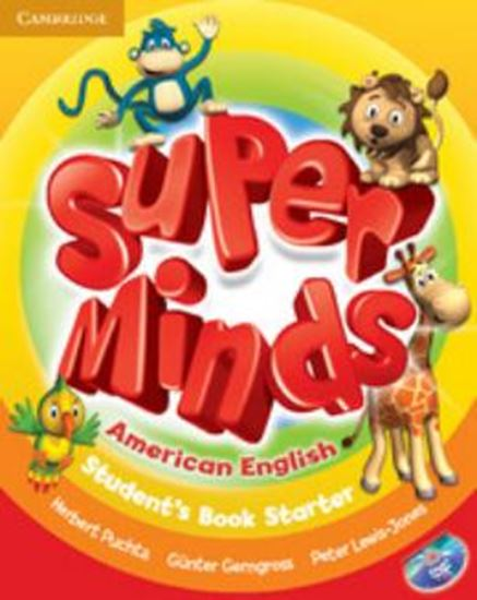 Picture of SUPER MINDS AMERICAN ENGLISH - STARTER STUDENT´S BOOK WITH DVD-ROM