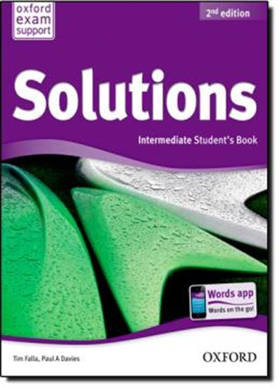 Picture of SOLUTIONS INTERMEDIATE STUDENT BOOK - SECOND EDITION