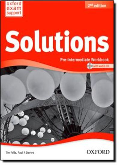 Picture of SOLUTIONS PRE-INTERMEDIATE - WORKBOOK AND AUDIO CD PACK - SECOND EDITION