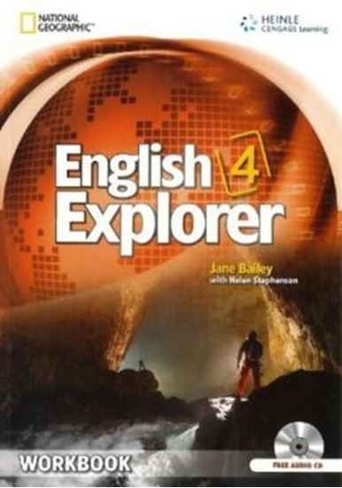 Picture of ENGLISH EXPLORER 4 - WORKBOOK WITH WORKBOOK AUDIO CD