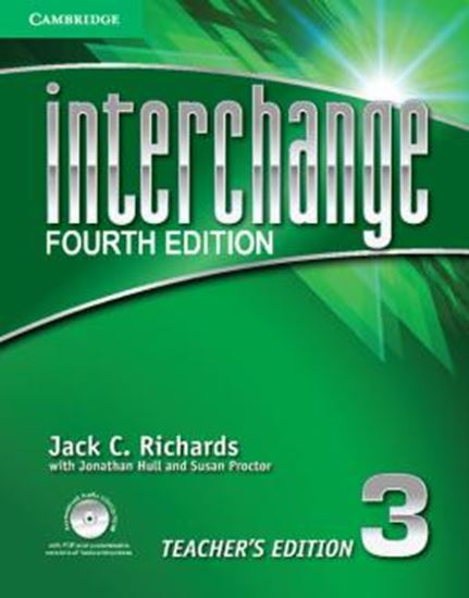 Picture of INTERCHANGE 3 TEACHERS EDITION WITH AUDIO CD /CD-ROM - FOURTH EDITION