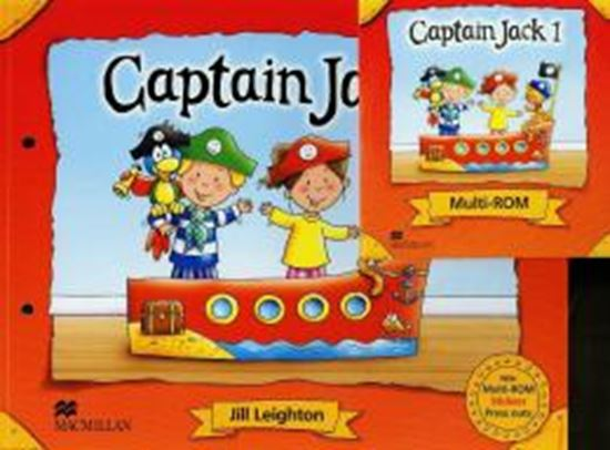 Picture of CAPTAIN JACK 1 PUPILS BOOK WITH MULTI-ROM AND STICKERS